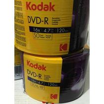 600 Dvd-r Kodak 16x Logo Original