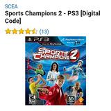 Sport Champions 2 Para Ps3 (digital)