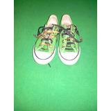 Zapatos Converse Niño Verde Manzana Originales