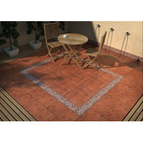 Ceramic Roja Patio Terrasa San Lorenzo Coto Cotto 33x33