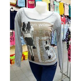 Camiseta De Dama Talles 1al5 Por Mayor Y Menor