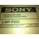 Lampara Para Videobeams Sony Lmp-p202