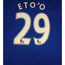 Jersey Autografiado Firmado Samuel Eto