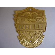 Emblema Da Bicicleta Gallo