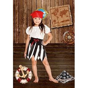 Disfraz De Pirata Para Niñas/halloween