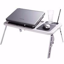 Mesa P/ Notebook E-table Portátil Dobrável Regulável Cp74