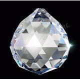Bola Cristal Egípcio Asfour Esfera Feng Shui 4,0cm Lustres