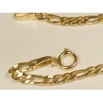 Pulseira 3 X 1 Masculina Em Ouro 18-750 Frete-grátis