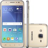 Samsung Galaxy J5 J500m Dourado Dual, Tela 5, Android 5.1