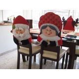Kit Patrones Imprimibles Para Forros De Sillas Navidad Arbol
