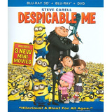 Blu-ray Despicable Me / Mi Villano Favorito 3d + 2d + Dvd