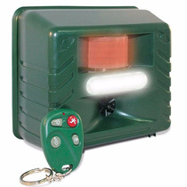 Perros - Repelente Ultrasonico Plagas-control Remoto-luz Est