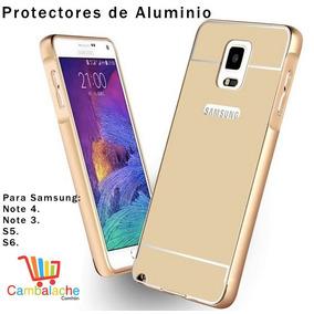 Protector Aluminio Samsung Note 4, Note 3, S5, S6