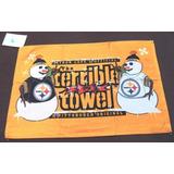 Toalla Terrible Muñecos De Nieve Pittsburgh Steelers Nfl