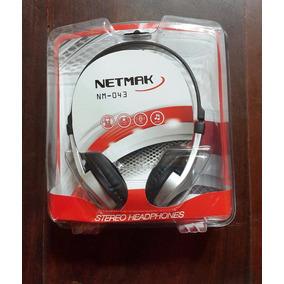 Auricular Con Microfono Netmak Ideal Cyber Ciber