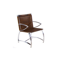 Cadeira Sama Sintético Alumínio Jardim Sala Piscina