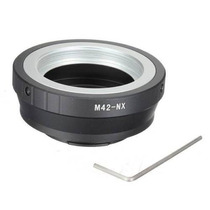 Anel Adaptador M42 Nx P/ Samsung Nx5 Nx10 Nx1000 Nx2000