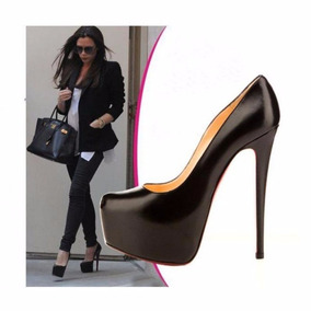 Sapato Feminino Salto Alto Luxo 12x Sem Juros Pronta Entrega