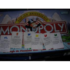 Monopoly Edicion Aniversario - Trenes+serv.publicos X 9 Un