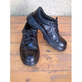 Zapatos Nª 39 De Seguridad, Color Negro