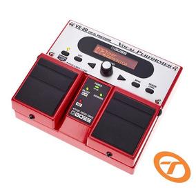 Pedal Processador Boss De Voz Ve 20 - Processador Vocal