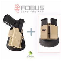 Funda Fobus Gl-2 + Funda Cargador Para Glock
