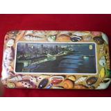 Lata Decorativa Alfajor Habana Mar Del Plata 39x22 Imperdibl