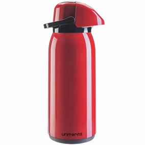 Garrafa Térmica Vermelha 1,8 Litros Café Chimarrão Água Chá