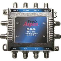 Multi-switch Eagle Aspen 3x8. Nuevo. En Caja