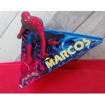 Servilleteros H/araña,superman,batman,ironman,hulk Y Mas X6u