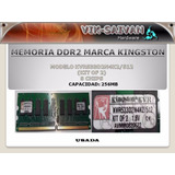 Memoria Ddr2 Kingston De 256mb Pc2-4200 533mhz 8 Chips 27