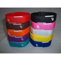 Relógio Led Digital Sport Bracelete Pulseira Silicone 10 Pçs