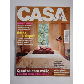 Revista Casa Claudia N 07 Quartos Com Estilo Julho 1998