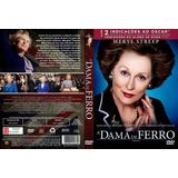 A Dama De Ferro Meryl Streep Dvd Original Novo Lacrado