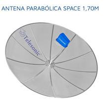 Antena Parabólica Telada 1,70 Telesonic Original Com Nf !!!!