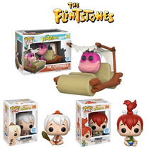 Funko Pop The Flintmobile With Dino Pebbles Bamm Bamm Dhl