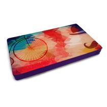 Almofada Bandeja Notebook Retrô 54x30cm