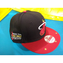 Gorra New Era Nba Miami Heat Snapback A