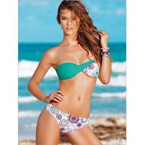 Leonisa Bikini De Realce Natural Strapless C/cargadera T.34