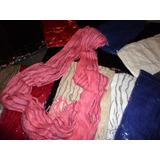 Bufanda-cuello (de Hilo -lana ) 2 En 1- Usala Como Quieras