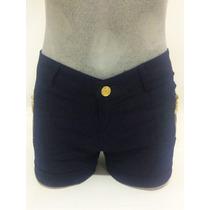 Shorts Hot Pants Coloridos E Jeans Kit Com 10 Atacado