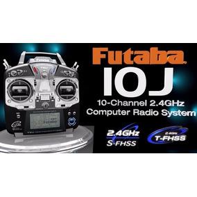 Rádio Rx/tx Futaba 10j Fhss Avião Heli R3008sb - Telemetria