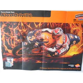 Poster Alex Crivillé Honda 500 Moto Gp 1999