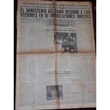 Periodico El Lider Resistencia Peronista Noviembre 1955
