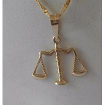 Dije Balanza De La Justicia Abogado Oro 10k