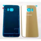 Tapa Trasera Samsung Galaxy S6 Edge Original De Cristal