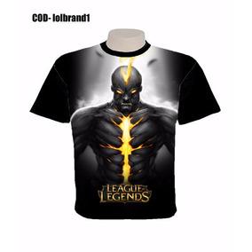 Camisa Camiseta League Of Legends Lol Blusa Personalizada