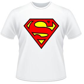 Camiseta Camisa Personalizada Super Homen Superman Heroi