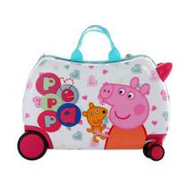 Maleta Para Niña Montable Peppa Pig