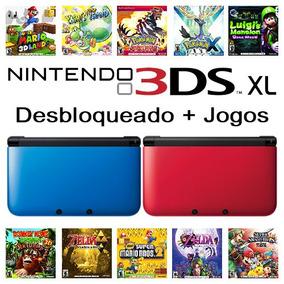 Nintendo 3ds Xl + 51 Jogos De 3ds + Sd 32gb + Sem Juros